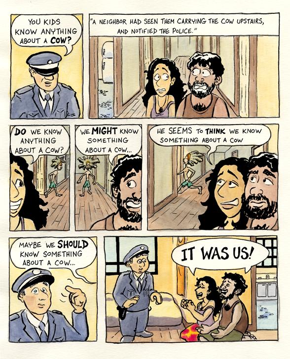 The Cow Comic, p. 7