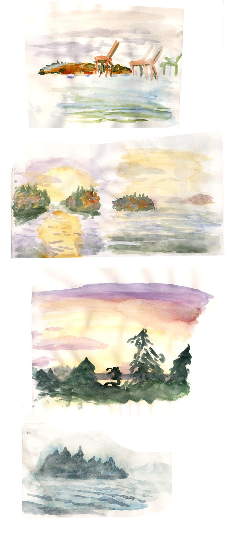 Seattle Watercolors